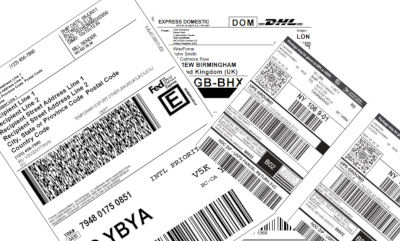 Courier Label Printing