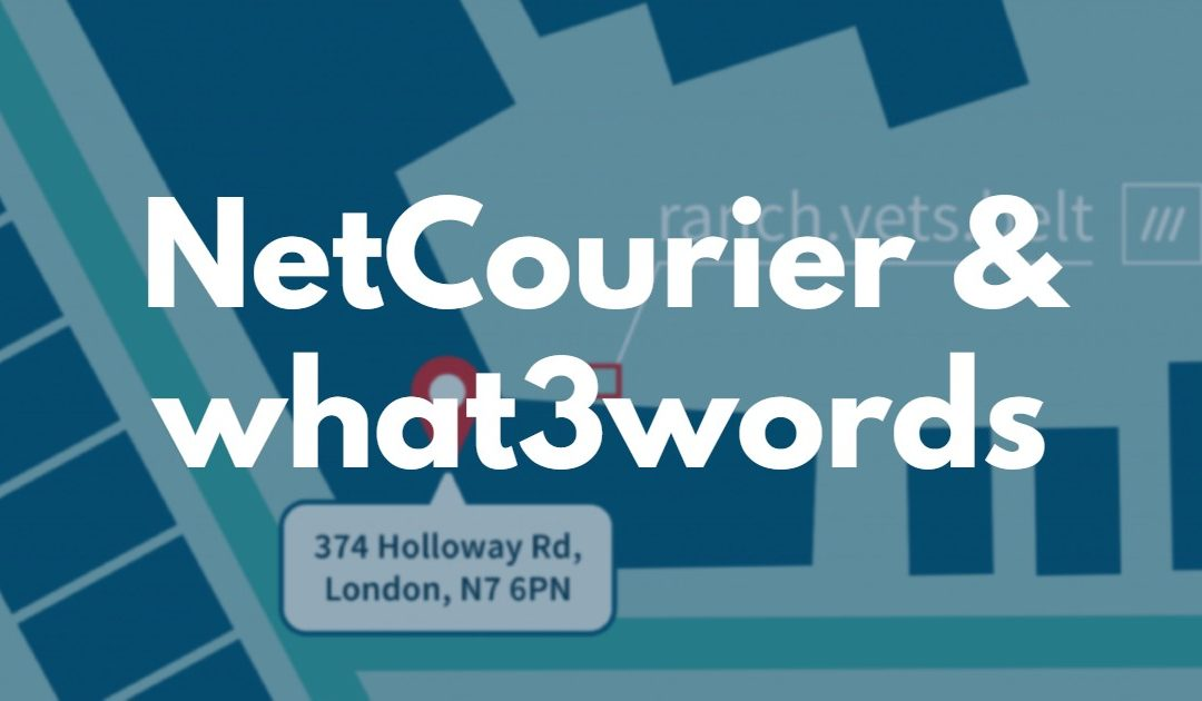 NetCourier & what3words